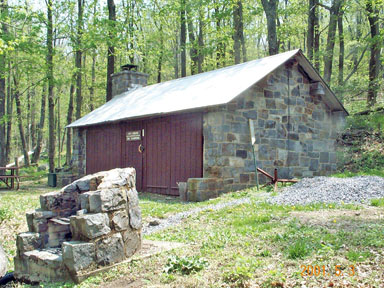 Ivy Creek Maintenance Hut